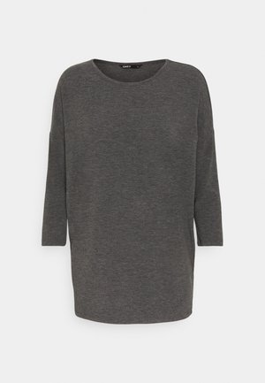 ONLGLAMOUR - Long sleeved top - dark grey /  melange