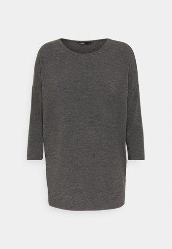 ONLGLAMOUR - Topper langermet - dark grey /  melange