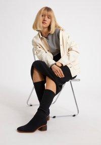 ARMEDANGELS - LADAA  - Sweatshirt - black, white - 4