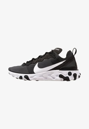 REACT 55 - Sneaker low - black/white