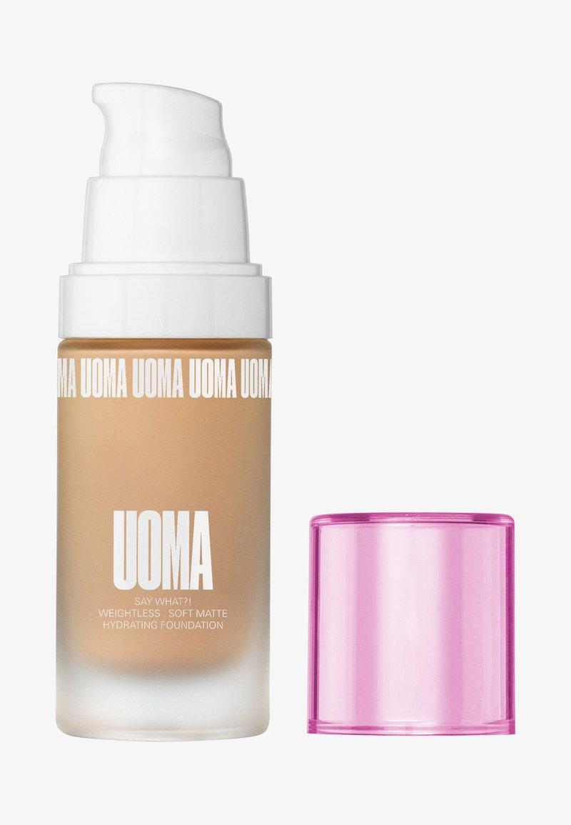 UOMA - SAY WHAT?! FOUNDATION - Foundation - t1n honey honey