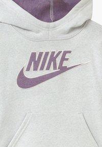 Nike Sportswear - HOODIE - Hoodie - mottled grey - 2