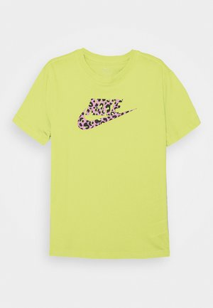 TEE - T-shirt print - limelight/pink rise