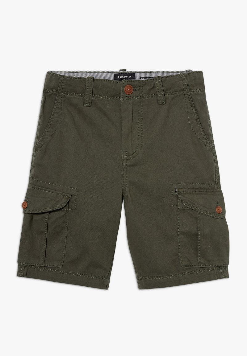 Quiksilver - CRUCIAL BATTLE YOUTH - Pantaloni cargo - thyme