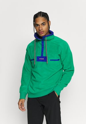 POWDER - Sweat polaire - emerald green/lapis blue