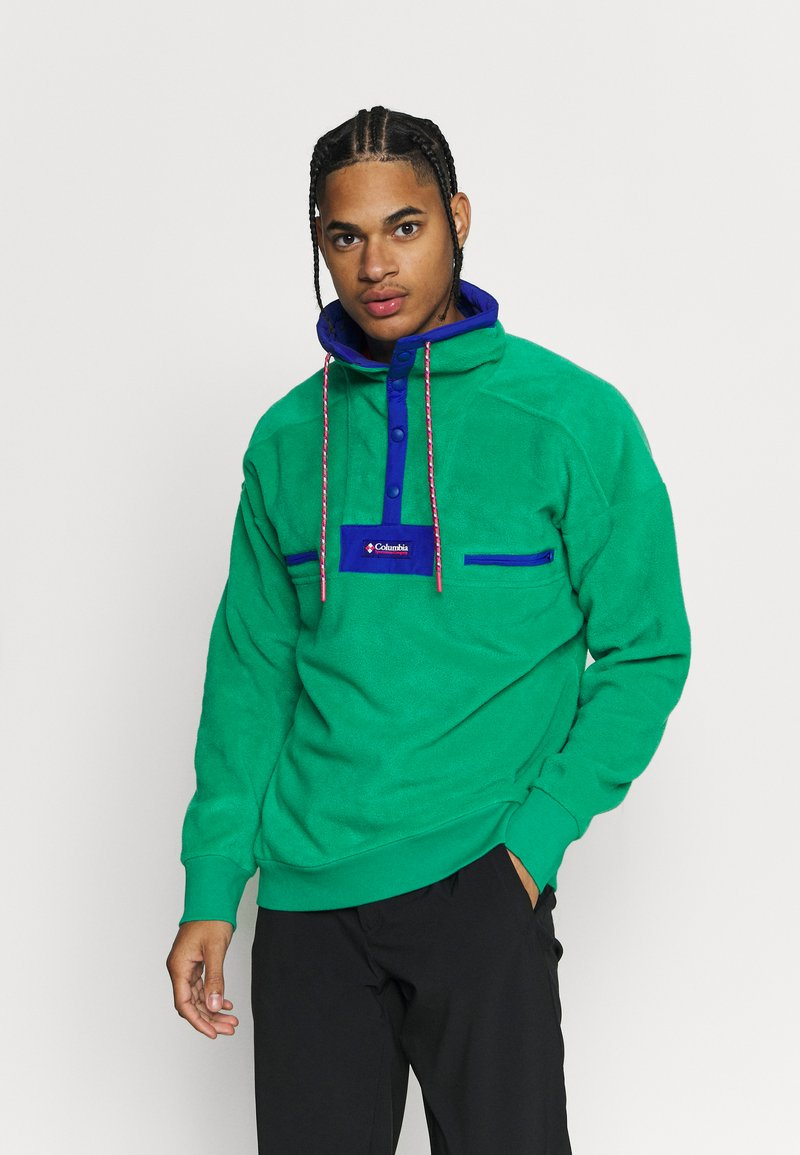 Columbia - POWDER - Fleece jumper - emerald green/lapis blue