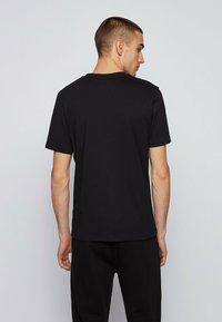BOSS - NOAH - Print T-shirt - black - 2
