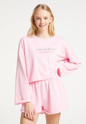 SET AUS SWEATWARE - Sweatshirt - rosa