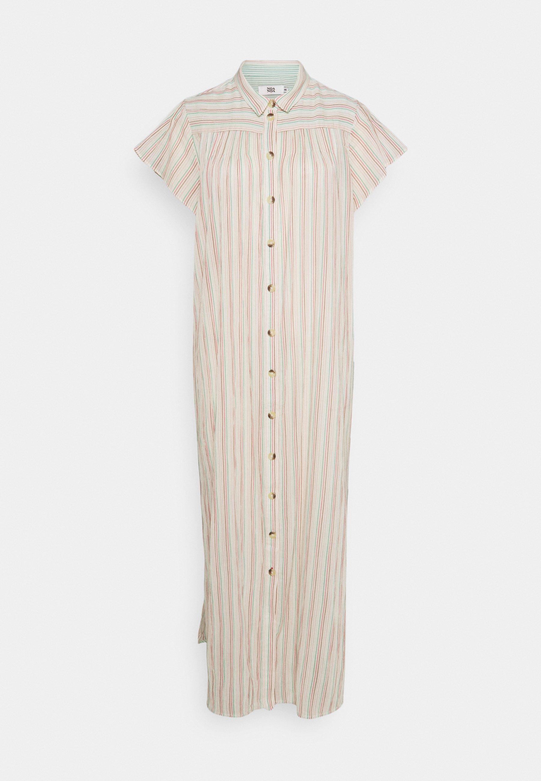 Women CREASED SHEER - Shirt dress