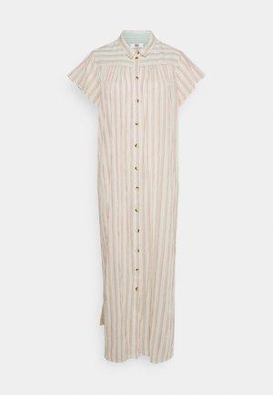 CREASED SHEER - Shirt dress - art multicolour