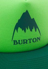 Burton - KIDS' I-80 TRUCKER SNAPBACK UNISEX - Pet - antique green - 3