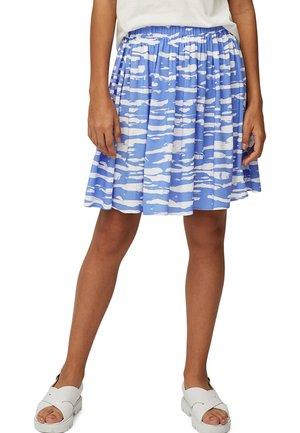 Mini skirt - multi/intense blue