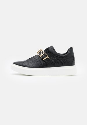 LOGO LETTERING - Loafers - nero