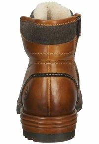 Bugatti - Winter boots - cognac - 2