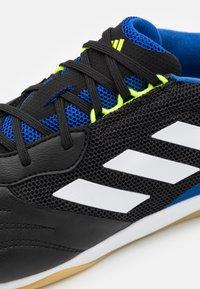 adidas Performance - COPA SENSE.3 IN SALA - Indoor football boots - core black/footwear white/solar yellow - 5