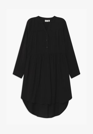 NKFNAGIRA - Shirt dress - black