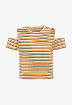 BADALONA - Print T-shirt - yellow