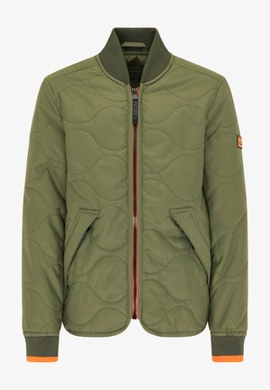 Bomber Jacket - dusty army