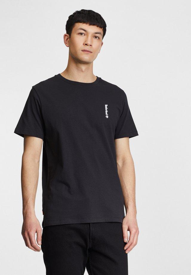 T-shirt basic - black/wheat boot