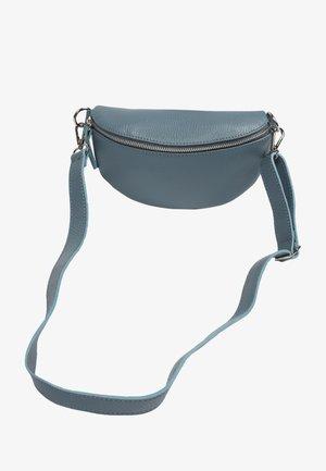 TINA - Across body bag - blau-grau