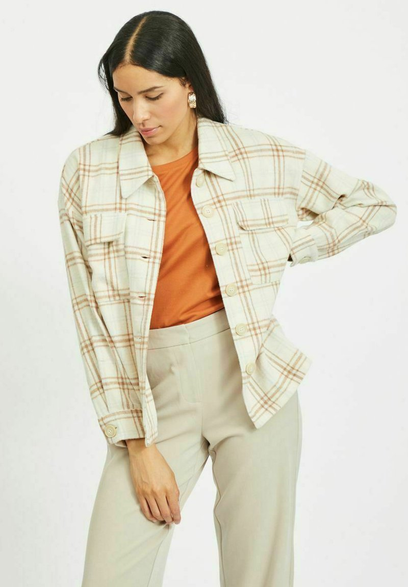Vila - Summer jacket - sandshell