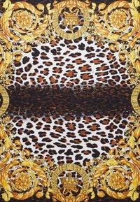 Versace - FOULARD - CARRE - Foulard - marrone oro bianco - 2