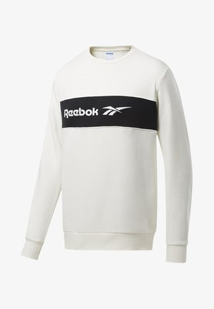 CLASSICS LINEAR CREW SWEATSHIRT - Sweatshirt - white