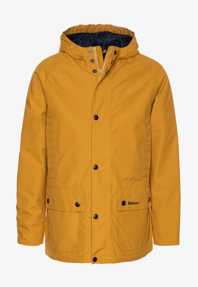 BOYS SOUTHWAY - Veste imperméable - lunar yellow