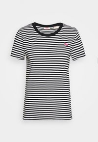 Levi's® - PERFECT TEE - Print T-shirt - black/white - 4