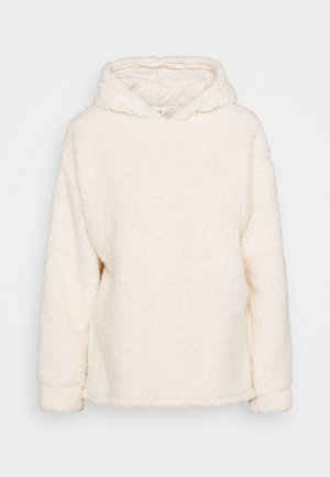 OVERSIZED HOODY - Fleece trui - cream