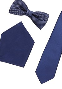Pier One - SET - Pocket square - dark blue - 4