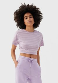 Stradivarius - Tracksuit bottoms - purple - 3