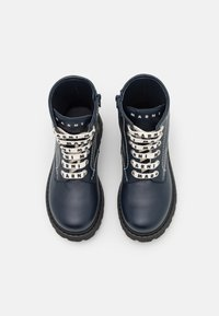 Marni - Lace-up ankle boots - dark blue - 3
