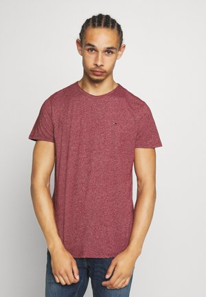 ESSENTIAL JASPE TEE - T-shirts basic - wine red