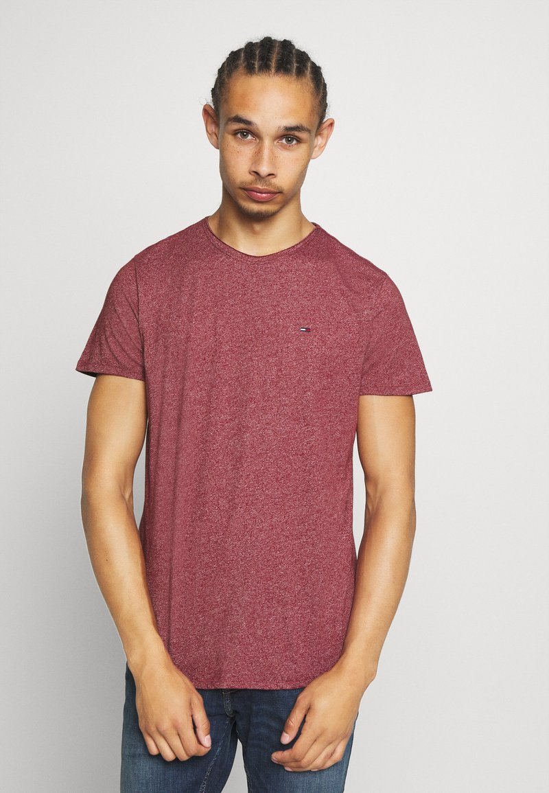 Tommy Jeans - ESSENTIAL JASPE TEE - T-shirts basic - wine red