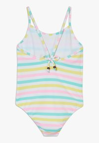 Sunuva - GIRLS STRIPE STRAPPY SWIMSUIT - Kostium kąpielowy - multi coloured - 1
