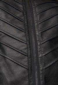 Evans - JACKET - Faux leather jacket - black - 5