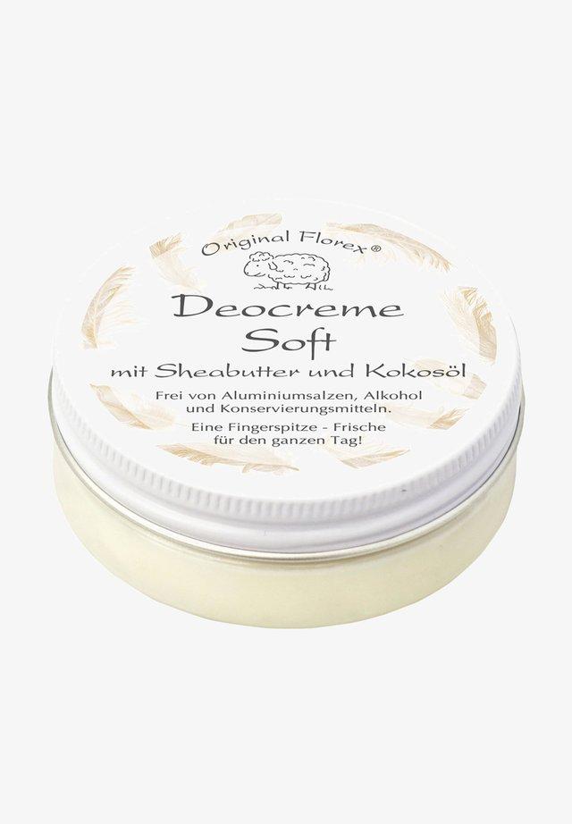 DEOCREME SOFT MIT SHEABUTTER UND KOKOSÖL 40 G - Deodorant - -