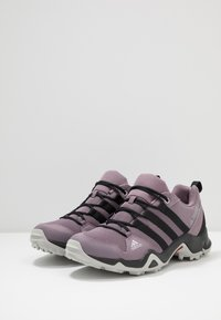 adidas Performance - TERREX AX2R - Hiking shoes - legend purple/core black/grey two - 3