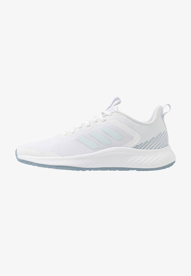 FLUIDSTREET - Treningssko - footwear white/sky tint/blue