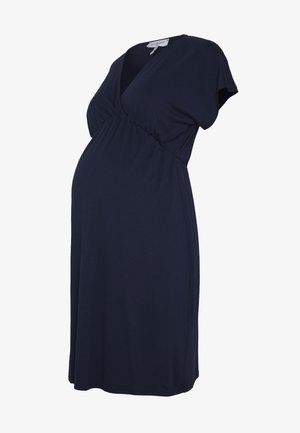 EVI MATERNITY DRESS - Vestido ligero - navy blue