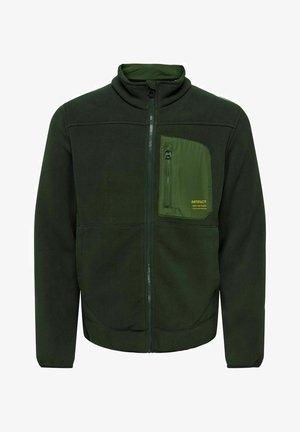 Fleecejakker - dark green