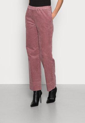 FELUCA HIGHWAIST PANTS - Trousers - wistfull mauve