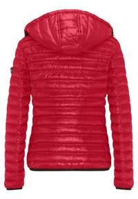 Frieda & Freddies - DAUNENJACKE NELLY II MIT ABNEHMBARER KAPUZE - Down jacket - cherry red - 7