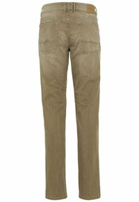 camel active - MIT STRETCH - Straight leg jeans - wood - 7