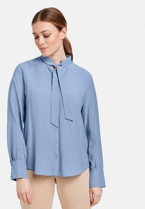 Button-down blouse - vivid blue