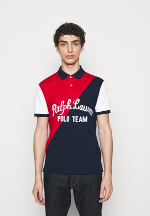 BASIC - Koszulka polo - red/multi