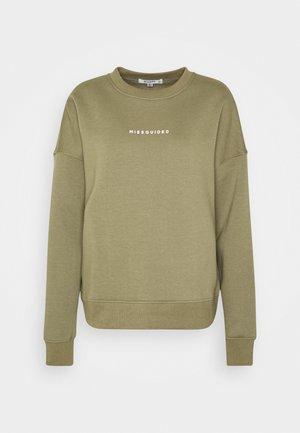 BASIC - Sweatshirt - khaki