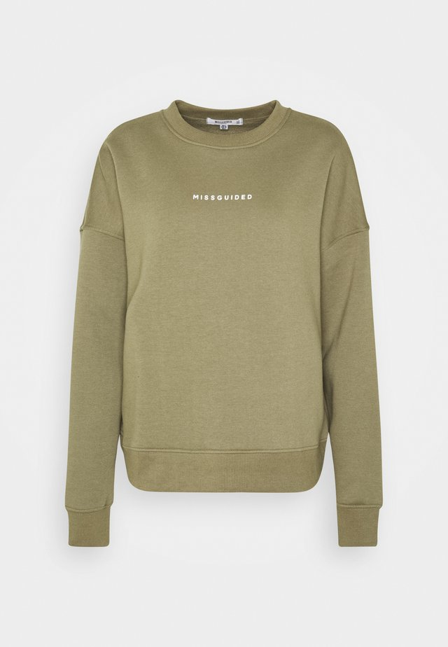 BASIC - Sweater - khaki