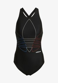 adidas Originals - SWIMSUIT PB - Swimsuit - black - 6